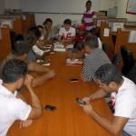 Estudiantes hicieron público su apoyo al candidato de la revolución en Vargas
