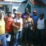 Parte del equipo político de Carauo